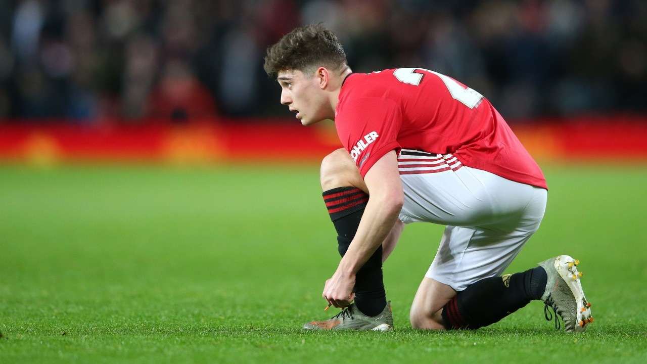 James 'frustrated' over a lack of minutes at Man Utd but unlikely to get a loan move, says Giggs