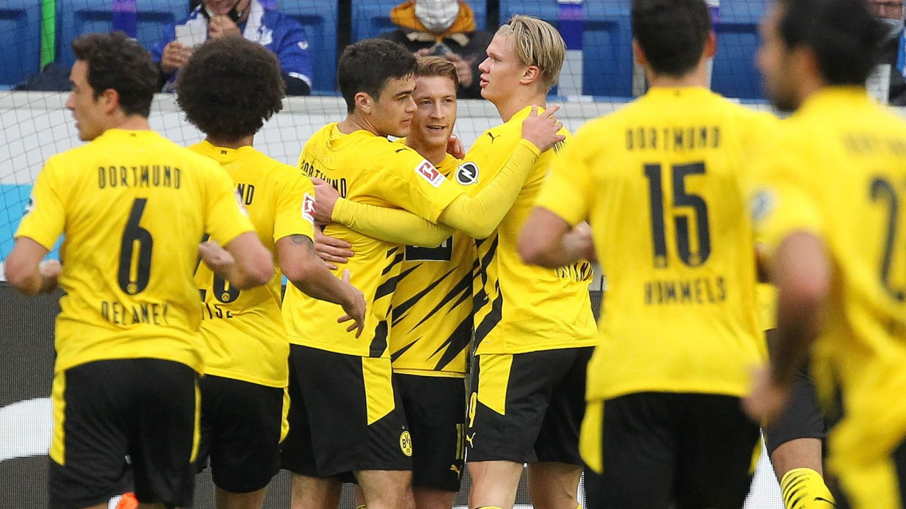 Hoffenheim Dortmund 2021